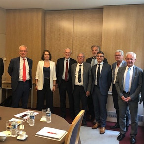 Rencontre avec le Président d'EDF, Jean-Bernard Lévy
