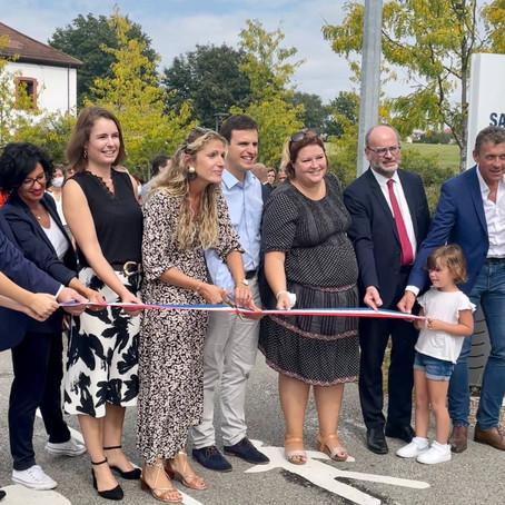 Inauguration de la voie verte à Belley