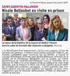 Article de presse - Le Dauphiné libéré