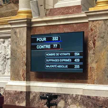 """332 voix pour, 77 contre ! Adoption massive de la loi """"climat et résilience"""""""
