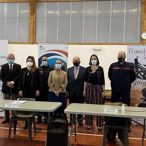 Prévessin-Moëns : le second centre de vaccination est ouvert