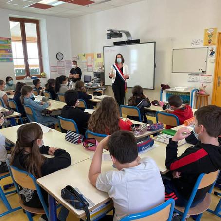 Parlement des enfants - École publique de Seyssel
