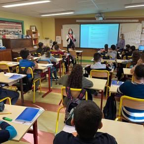 """Parlement des enfants - École """"Les Montagniers"""" de Valserhône"""