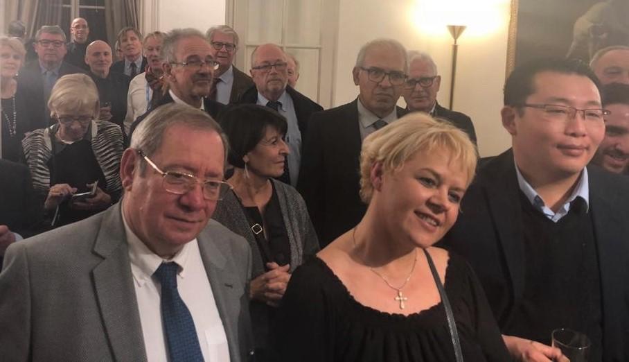 Repas des maires au Sénat