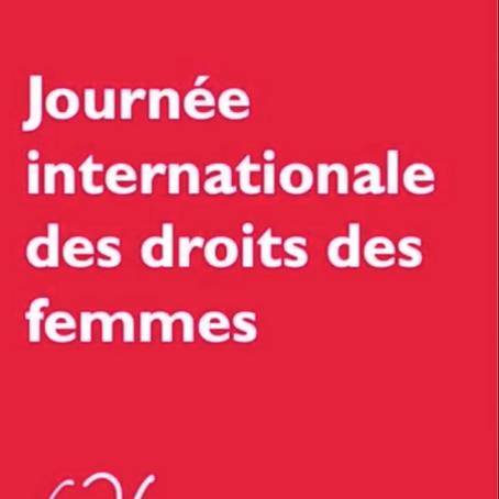 Journée internationale des droits des femmes !