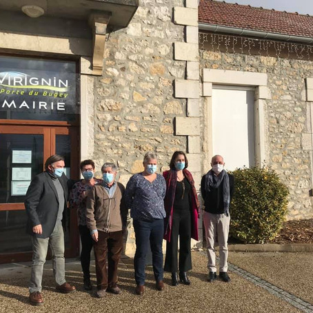 Mairie de Virignin : la question de la sécurité routière
