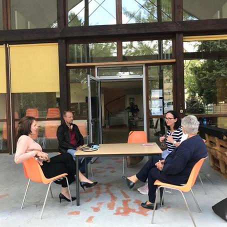 Rencontre avec l'équipe du centre social de Belley