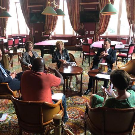 Jeux d'argent : rencontre avec Isabelle Falque-Pierrotin, présidente de l'ANJ