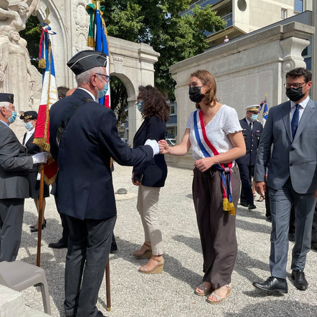 Commémoration de l'appel du 18 juin à Bourg en Bresse