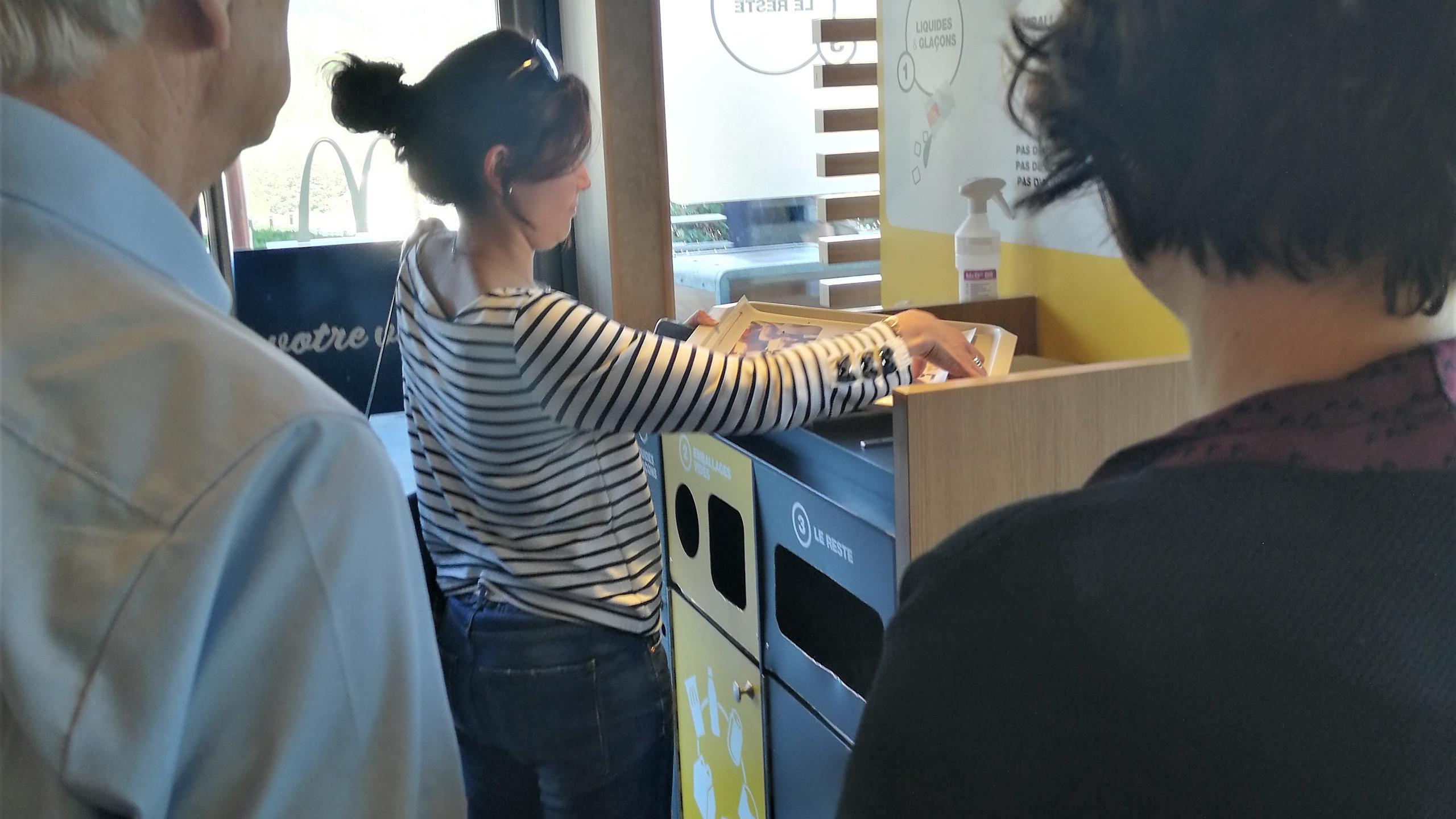 Visite du McDonald's