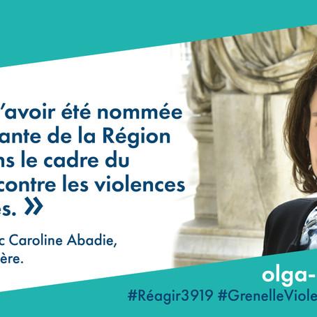 Référente Auvergne-Rhône-Alpes pour le Grenelle contre les violences conjugales