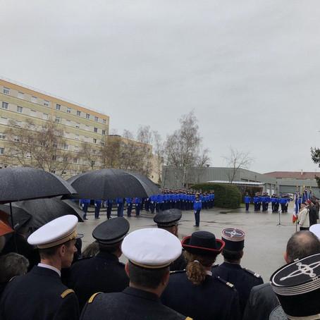 Hommage aux gendarmes décédés