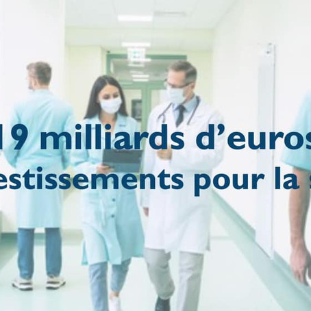 Ségur de la santé : 19 milliards pour les hôpitaux et les EHPAD