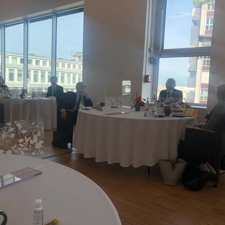 Petit-déjeuner parlementaire autour de Philippe Wahl, PDG du groupe La Poste