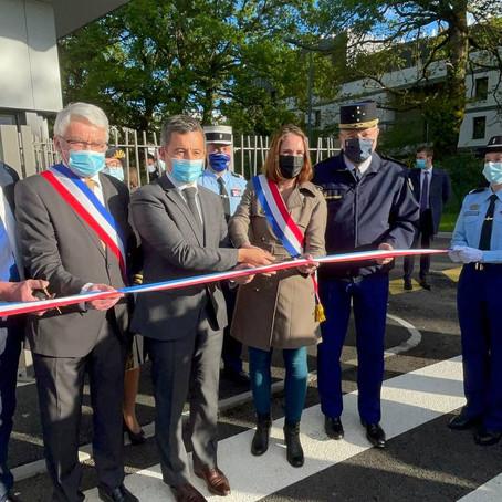 Inauguration officielle de la Brigade Territoriale Autonome aux côtés du Ministre de l'interieur
