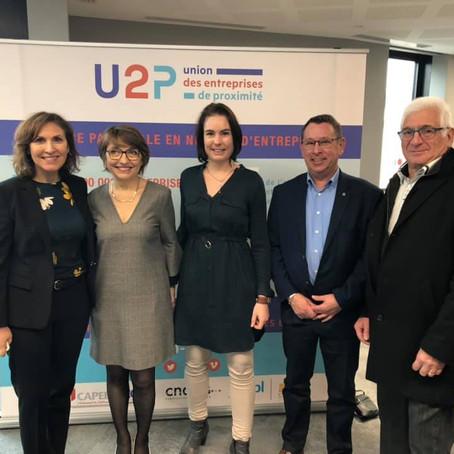 Vœux de l'U2P, union des entreprises de proximité