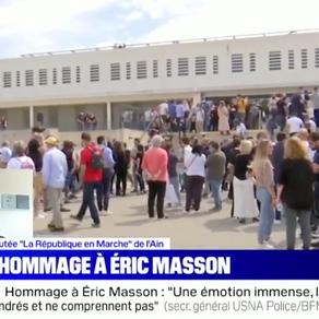 Sécurité : hommage au brigadier Eric Masson