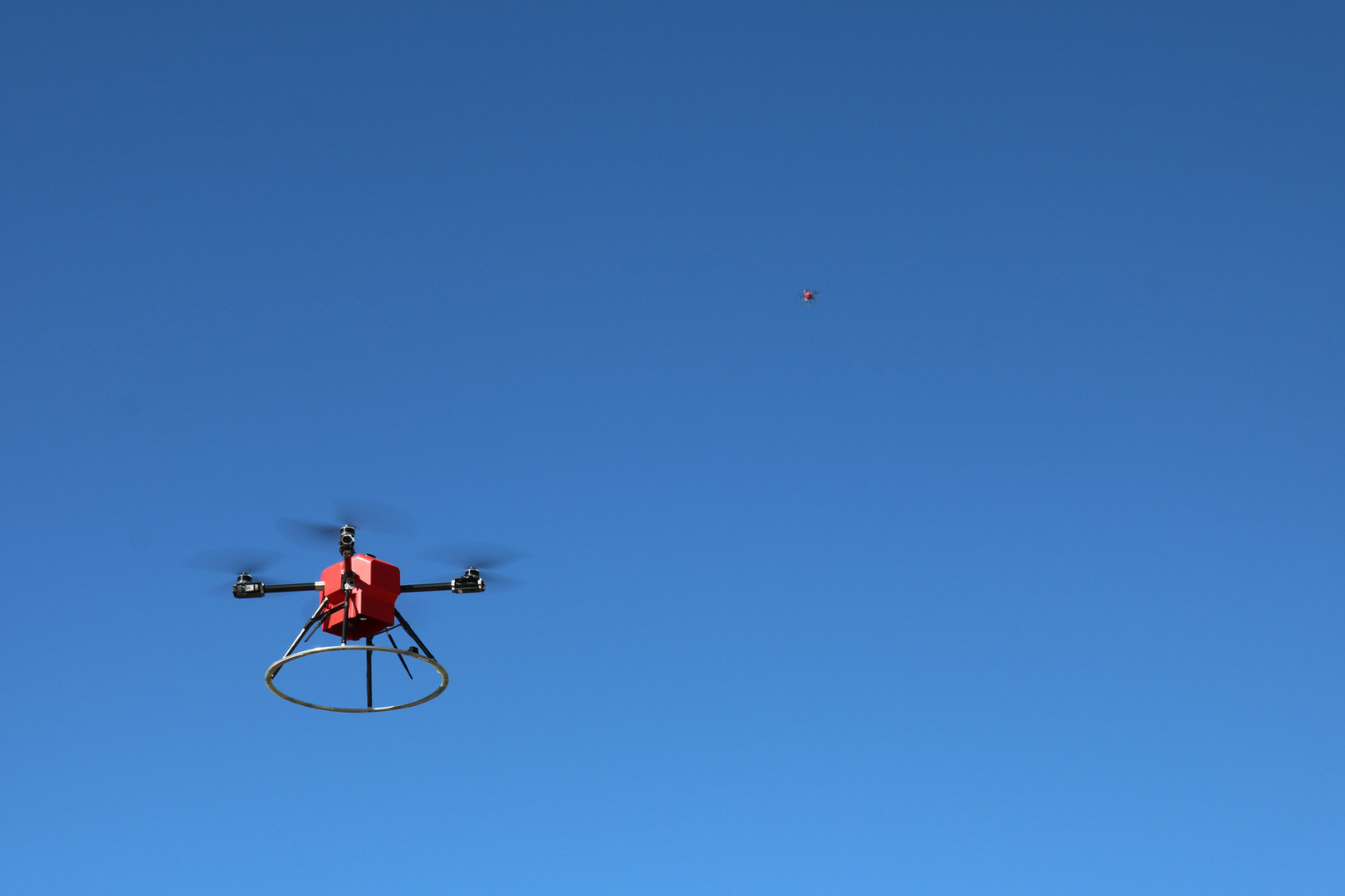 Two Scout Drones Flying Autonomously.jpe