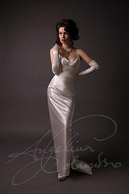 Natasha Weddng Dress by Wedding Dress Designer Angelina Colarusso