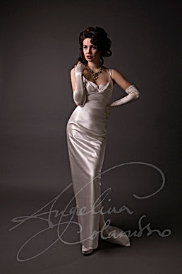 Natasha Weddng Dress by Wedding Dress Designer Angelina Colarusso