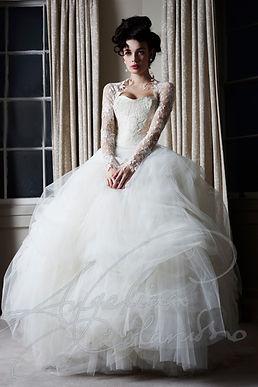Degas Wedding Dress by Wedding Dress Designer Angelina Colarusso
