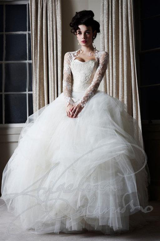Degas designer wedding dress