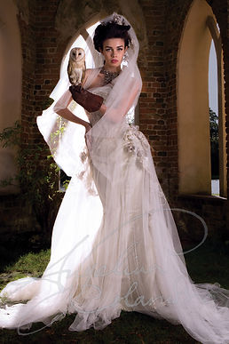 Aryana Wedding Dress - Designer Wedding Dresses by Wedding Dress Designer Angelina Colarusso.