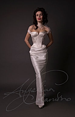 Claudette Designer Wedding Dress