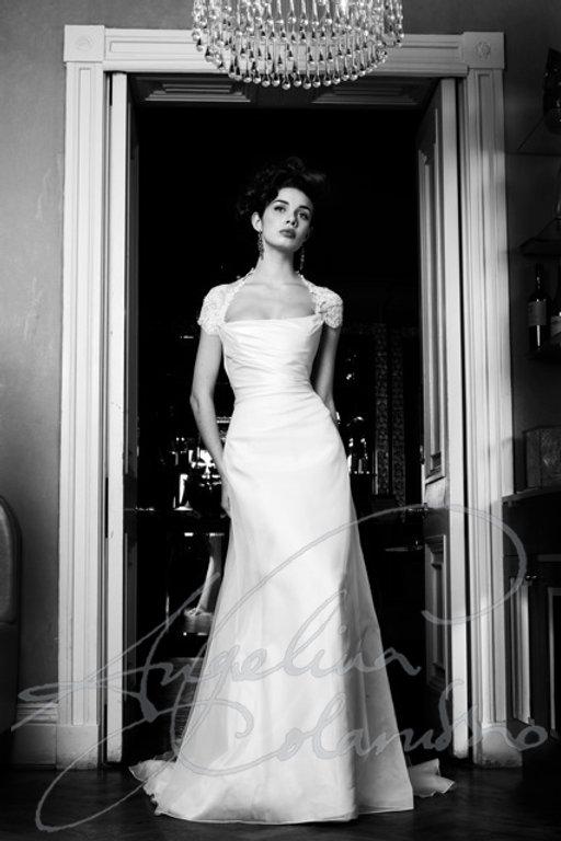 Adelle designer weddng dress