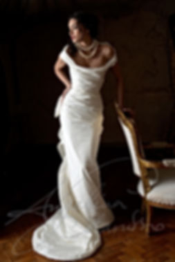 Angelina Colarusso Bridal Collections   Couture bridal designer renowned for  elegance and glamour, outstanding corsetry, timeless design and signature 1950s body draping . Angelina's dresses are sensuous, evocative and bespoke. Each gown capturing the very spirit of vintage silver screen and the timeless elegance of the worlds most unforgettable women. mature bride   elegant wedding dress   elegant bride   timeless wedding dress   glamorous   dramatic   theatrical   bespoke bride   couture designer london   mature wedding dress