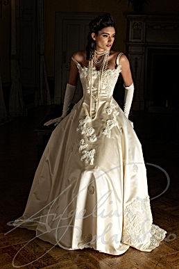 Minuet Wedding Dress - Designer Wedding Dresses by Wedding Dress Designer Angelina Colarusso.