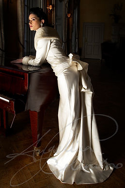 Lauren Wedding Dress - Designer Wedding Dresses by Wedding Dress Designer Angelina Colarusso.