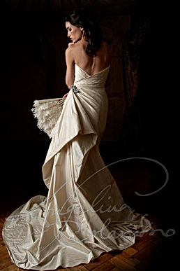 Carmen Wedding Dress - Designer Wedding Dresses by Wedding Dress Designer Angelina Colarusso.