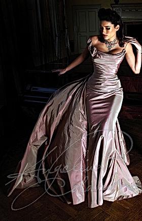 Bespoke Wedding Dress Greater London Angelina Colarusso