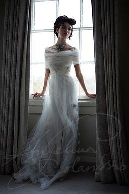 Mireille Designer Wedding Dress by Wedding Dress designer Angelina Colarusso