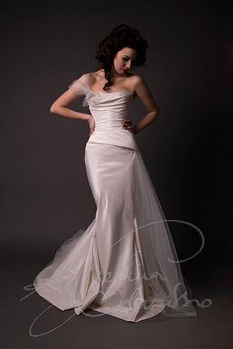 Moreau Wedding Dress - Designer Wedding Dresses by Wedding Dress Designer Angelina Colarusso.