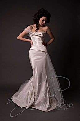 Moreau Wedding Dress - Designer Wedding Dresses by Wedding Dress Designer Angelina Colarusso.