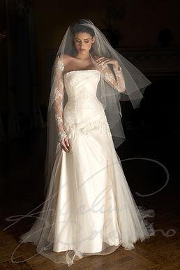 Aria Wedding Dress - Designer Wedding Dresses by Wedding Dress Designer Angelina Colarusso.