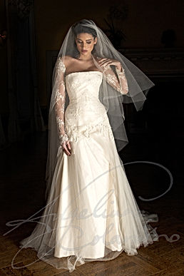 Aria Wedding Dress - Designer Wedding Dresses by Wedding Dress Designer Angelina Colarusso.