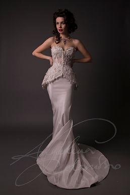 Julienne Wedding Dress - Designer Wedding Dresses by Wedding Dress Designer Angelina Colarusso.