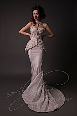 Julienne Wedding Dress - Designer Wedding Dresses by Wedding Dress Designer Angelina Colarusso.
