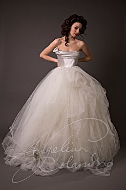 Arabella Wedding Dress - Designer Wedding Dresses by Wedding Dress Designer Angelina Colarusso.