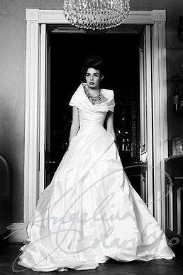 Antonia Wedding Dress - Designer Wedding Dresses by Wedding Dress Designer Angelina Colarusso.