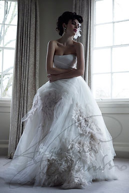 Odette Wedding Dress by Wedding Dress Designer Angelina Colarusso