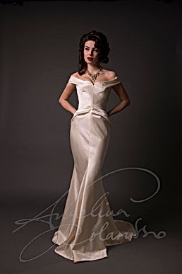 Avedon  Wedding Dress by Wedding Dress Designer Angelina Colarusso
