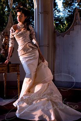 Vienna Wedding Dress - Designer Wedding Dresses by Wedding Dress Designer Angelina Colarusso.