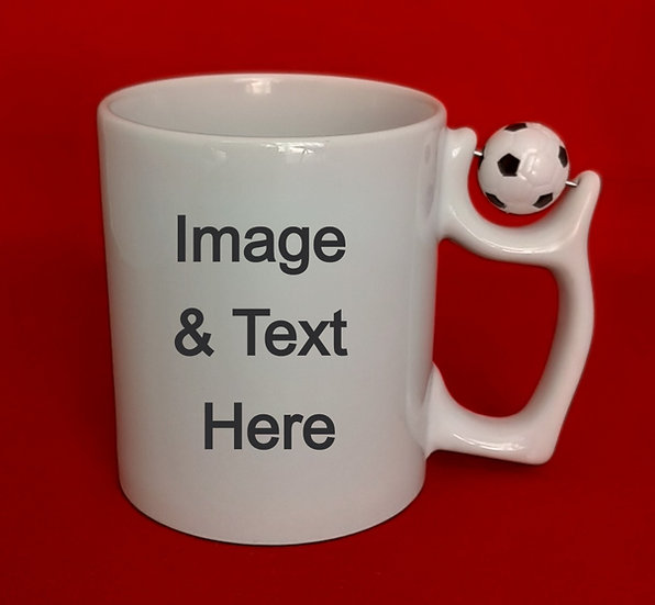 Personalised Football Mug 11oz