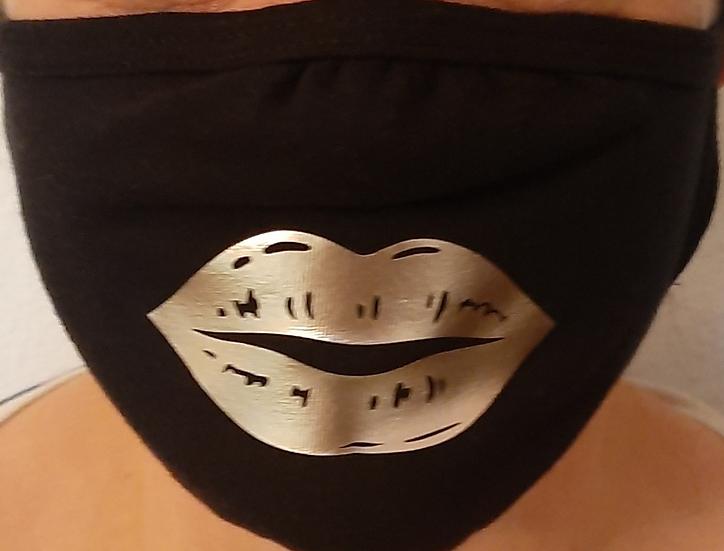 Funky Lips Washable Face Masks x 2