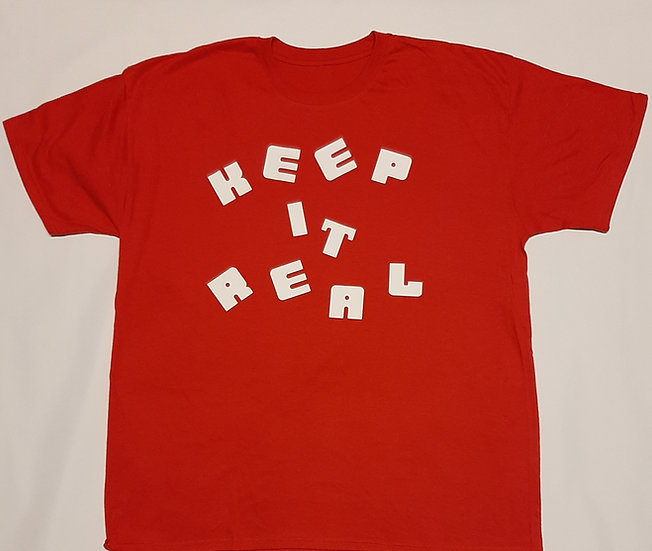 Adults Keep It Real Tee