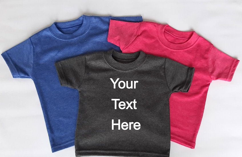 Personalised Super soft Baby T-Shirt